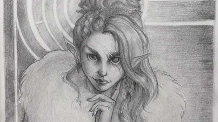 Dark-elf mystic